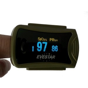 Der Fingerpulsoximeter MD300C63 OLED im Test.