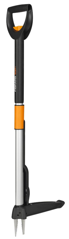 Fiskars Teleskop Unkrautstecher SmartFit Schwarz 6