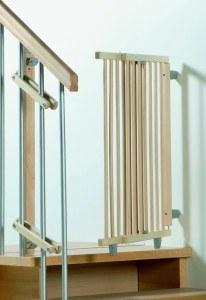 Das GEUTHER 2733 Schwenk Treppenschutzgitter von unseren Experten für Sie getestet.