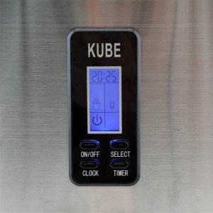 Die H.Koenig KB15 Eiswürfelmaschine hat ein gut lesbares Display.