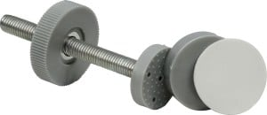 """Das IB-Style - Treppenschutzgitter """"Megane"""" lässt sich ganz einfach montieren."""