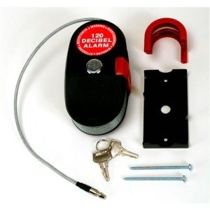 Kabelschloss mit Alarmfunktion Lock Alarm 2,40 m - Fahrradschloss