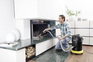 Kärcher 1.629-662 Aschesauger AD 3 Premium Fireplace