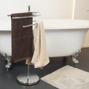 Der Handtuchständer bietet viele Vorteile.