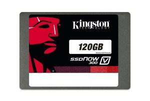 Kingston SV300S37A/120G SSDNow V300 interne SSD-Festplatte 120GB (6,4 cm (2,5 Zoll), SATA III) schwarz