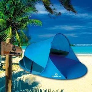 Die Outdoorer Pop up Strandmuschel Zack II ist ideal für den Strand.