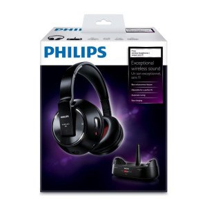 Philips SHC8575 Funk-Kopfhörer mit Ladeschale