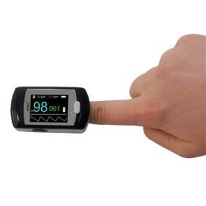 Der Pulsoximeter PULOX PO-300 lässt sich intuitiv bedienen.