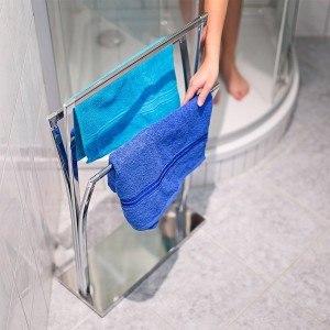 Wenn Sie den Handtuchständer regelmäßig reinigen, haben Sie viele Jahre Freude daran.