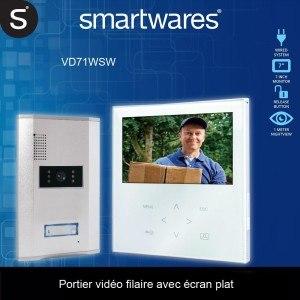 Die Smartwares Video-Türgegensprechanlage von den Kunden für sie verglichen.
