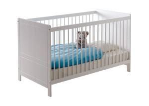 """Das TICAA Baby Gitterbett """"Moritz"""" Kiefer Weiß für Sie getestet."""