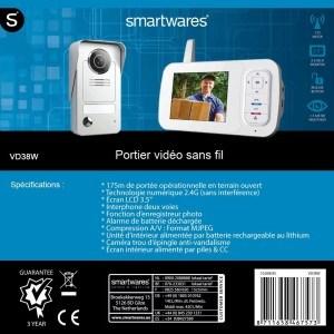Umfangreiche Infos zur drahtlose Videotürsprechanlage von Smartwares.