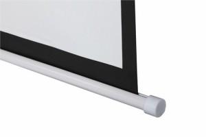 Beamer Heimkino Leinwand Slender Line Base Rolloleinwand 203 x 203 cm (Diagonale ca. 289cm / 113 Zoll) HDTV/3D tauglich