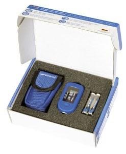 Das oxy control GT-300C203 Finger-Pulsoximeter lässt sich optimal transportieren.