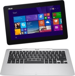 Asus T200TA-CP001H 29,4 cm (11,6 Zoll) Netbook (Intel Core-2 Quad Z3775, 1,4GHz, 2GB RAM, 64GB HDD, Intel HD, Win 8, Touchscreen) blau