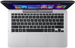 Asus T200TA-CP001H 29,4 cm (11,6 Zoll) Netbook (Intel Core-2 Quad Z3775, 1,4GHz, 2GB RAM, 64GB HDD, Intel HD, Win 8, Touchscreen) blau