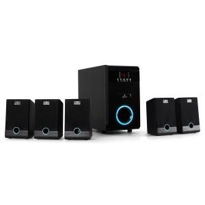 Auna Aktives 5.1 Lautsprecher-Boxen