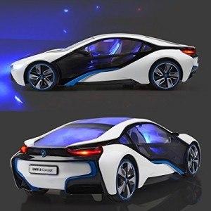 Die Oberfläche des BMW i8 Vision Concept Car ist ausgesprochen robust.
