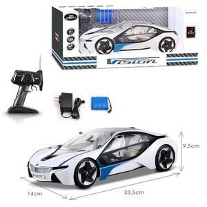 Der BMW i8 Vision Concept Car hat einen umfangreichen Lieferumfang.