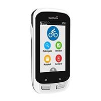 Fahrrad-Navi mit hochauflösendem 3,0 Zoll Touchscreen-Display und vorinstallierter Garmin Fahrradkarte Europa mit kostenfreien Updates.