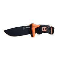 Das Ultimate Survival-Messer verfügt über eine umfangreiche Ausstattung, die auf den Erfahrungen des britischen Survival-Spezialisten Edward Bear Grylls beruht.