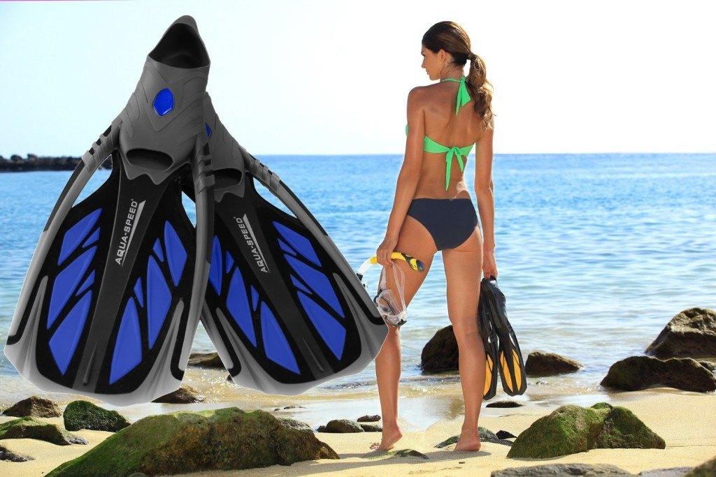 Inox-AquaSpeed-Schwimmflossen-Strand