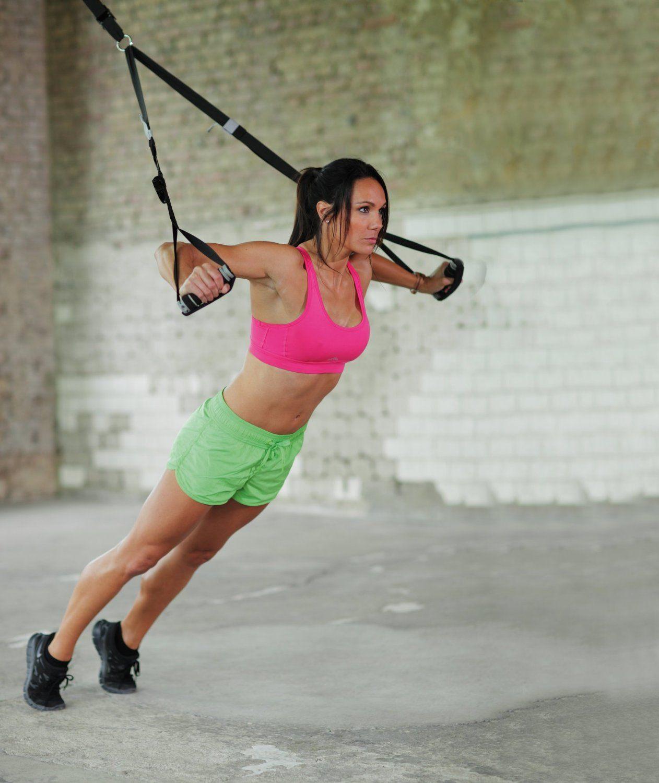 Der Kettler Sling Trainer ist variabel zum Einsetzen.