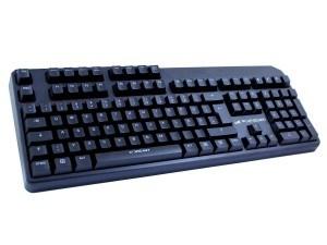Lioncast LK30 mechanisches Keyboard LED - Cherry Blau (USB, Deutsches Tastaturlayout, QWERTZ)