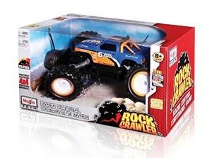 Den Maisto R/C Rock Crawler gibt es mit verschiedenen Covern.