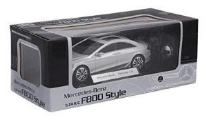 Der Mercedes Benz F800 Concept Car wird in einer robusten Verpackung geliefert.
