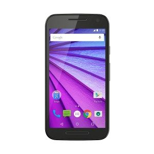 Motorola Moto G 3. Generation Smartphone (12,7 cm (5 Zoll) Touchscreen-Display, 16 GB Speicher, Android 5.1.1) schwarz