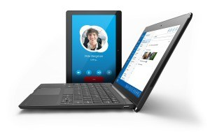 Odys Winpad 10 2in1 25,7 cm (10,1 Zoll) Convertible Tablet-PC (Intel Atom Quadcore Z3735F, 2GB RAM, 32GB Flash HDD, Win 10) schwarz