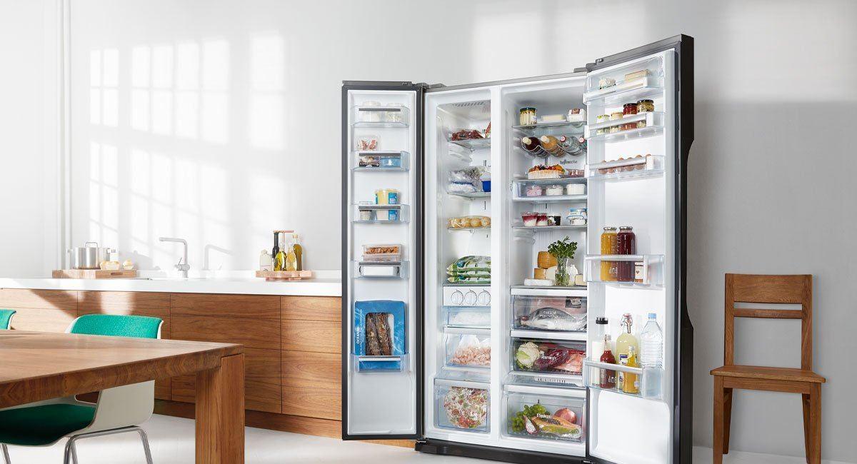 side-by-side kühlschrank test 2017 ? die 10 besten side-by-side ... - Küche Mit Amerikanischem Kühlschrank