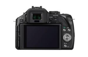 Der Bildschirm der Panasonic Lumix DMC-G5KEG-K Systemkamera ist ausreichend groß.