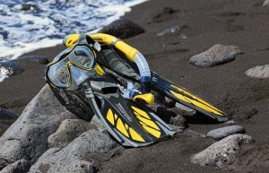 Schnorchelausruestung-Meer-Aquaspeed