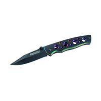 Smith and Wesson Messer Einhandmesser Aluminium-Schalen Länge geöffnet: 16.9 cm, 136909