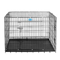 Der Songmics XXXL 2 Türen Hundekäfig Transportkäfig ist Vergleichssieger im Hundebox Test.