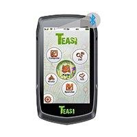 8,8 cm (3,5 Zoll) transflektives Touchscreen-Display Bluetooth® 4.0 BLE zur Kopplung von Sensoren Spezielle Outdoor-Navigationssoftware (OSM-Karten onboard).