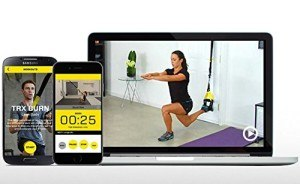 Am TRX Fitness-Gerät lassen sich mehr als 900 verschiedene Übungen durchführen.