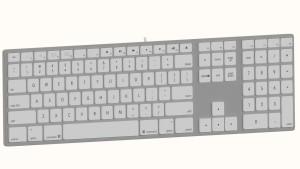 Tastatur-Apple