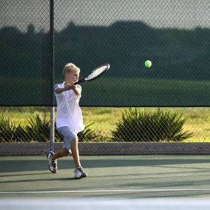 Ultrasport Junior Tennisschläger Cadet-Serie, besaitet