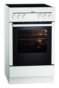 AEG Electrolux 20095VA-WN Backofen EEK A (Leichtreinigungstür, Ober- und Unterhitze, Glaskeramik, 4-fach Restwärme) weiß [Energieklasse A]