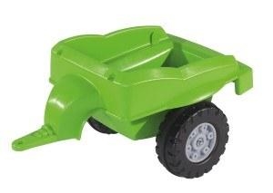 BIG 800056525 - Jimmy-Loader + Trailer Kindertraktor, grün