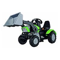 Der BIG-John-XL-Loader ist der ideale Traktor für Kinder ab 3 Jahren. Er wird in Deutschland vom Hersteller des BIG-Bobby-Car produziert und ist extrem robust und perfekt auf die kindliche Ergonomie abgestimmt.