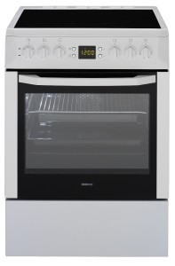 Beko CSM 67300 GW Standherd / A / Höhe 85 cm / Breite 60 cm / weiß / Heißluft mit Ringheizkörper / 3D Multidimensionales Kochen / Glaskeramik-Kochfeld [Energieklasse A]