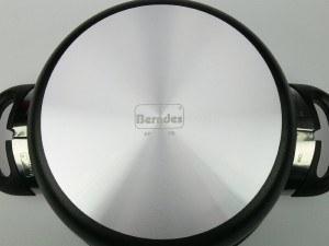 Berndes 011243 Alu-Specials Aluminium Kochtopf antihaft mit Glasdeckel 20 cm, 3,5 l