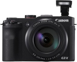 Canon PowerShot G3 X Digitalkamera (20,2 Megapixel, 25-fach optischer Zoom, 8 cm (3,1 Zoll) Display, Full HD) schwarz