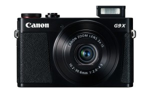 Canon PowerShot G9 X Digitalkamera (20,2 Megapixel, 7,5 cm (3 Zoll) Display, WLAN, NFC, Image Sync, 1080p, Full HD) schwarz