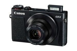 Canon PowerShot G9 X Digitalkamera (20,2 Megapixel, 7,5 cm (3 Zoll) Display, WLAN, NFC, Image Sync, 1080p, Full HD) schwarz