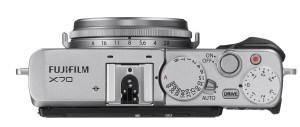 Fujifilm X70 Kompaktkamera silber